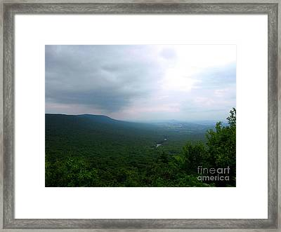 Overlook Framed Print by Melissa Stoudt