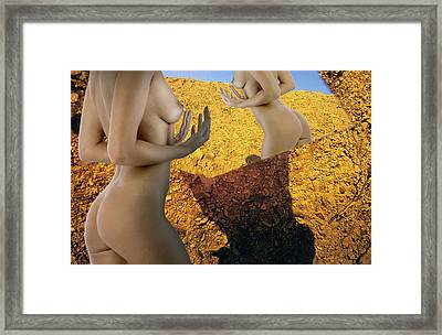 Overlooked View No. 23 Framed Print by Matjaz Preseren