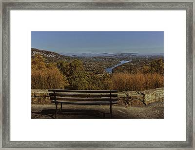 Overlooking Lake Lure Framed Print