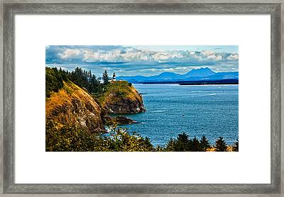 Overlooking Framed Print