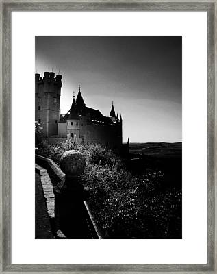 Overlooking The Valley Of Long Ago Framed Print by Connie Handscomb