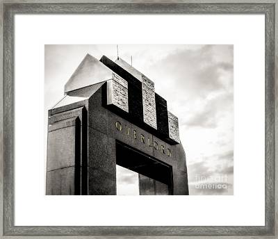 Overlord Framed Print by Mark East