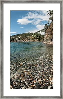 Overpass, Puget Sound, Everett Framed Print by Panoramic Images