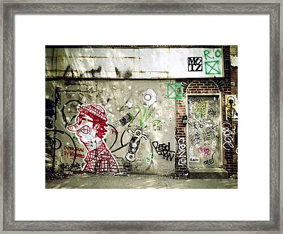 Overrun By Hipsters Framed Print
