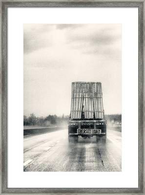 Oversized Load Framed Print by Robert  FERD Frank