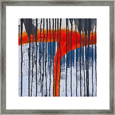 Overspray Framed Print by Carol Leigh
