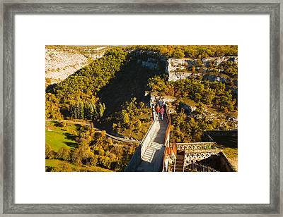 Overview Of Chateau Ramparts Framed Print by Panoramic Images