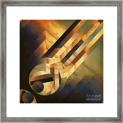 Overwhelming Dimensionality Framed Print by Lonnie Christopher