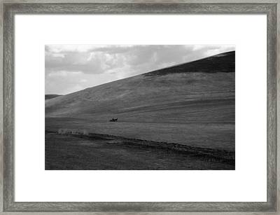 Overwhelmingly The Hill Framed Print by Silvia Floarea Toth