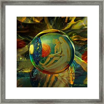 Ovule Of Eden  Framed Print by Robin Moline