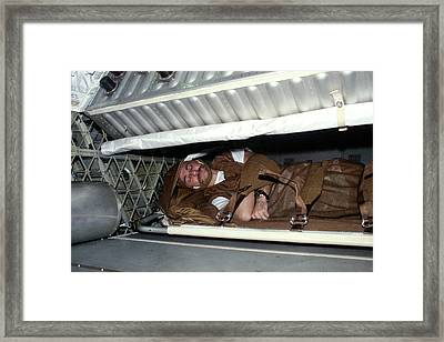 Owen Garriott Framed Print by Nasa