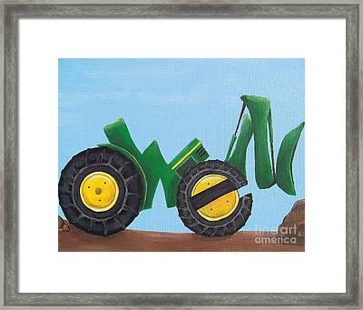 Owen Framed Print by Tracie Davis