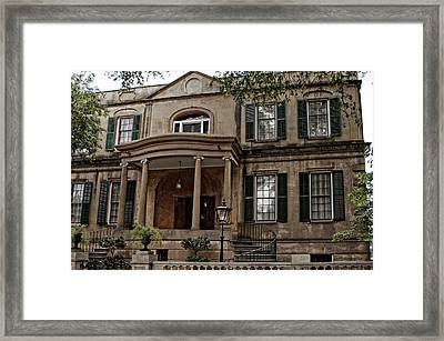 Owens - Thomas House Framed Print