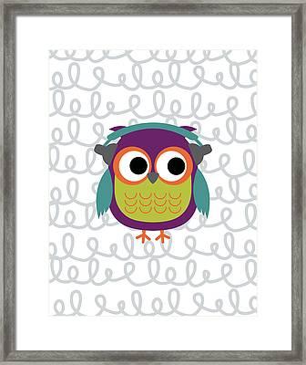 Owl 2 Framed Print by Tamara Robinson