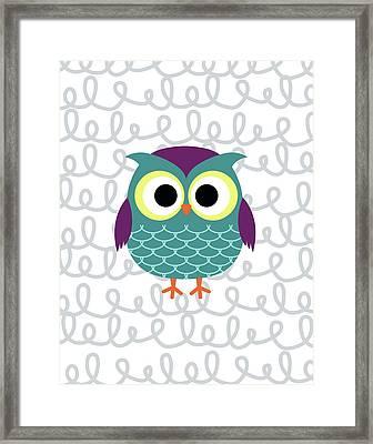 Owl 3 Framed Print by Tamara Robinson