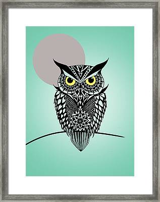 Owl 5 Framed Print by Mark Ashkenazi