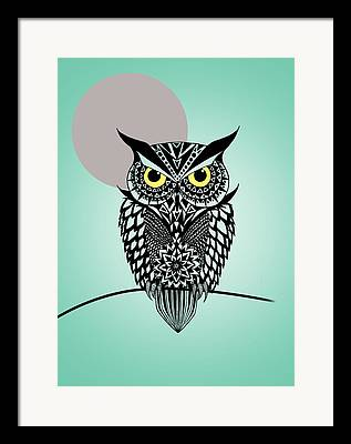 Owl Framed Prints