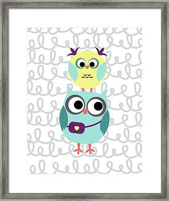 Owl 5 Framed Print by Tamara Robinson