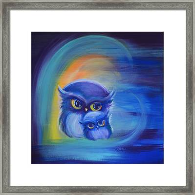 Owl Always Love You Framed Print