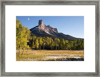 Owl Creek Pass Framed Print by Aaron Spong