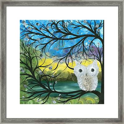 Owl Expressions 04 Framed Print