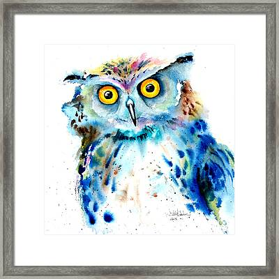 Owl Framed Print by Isabel Salvador