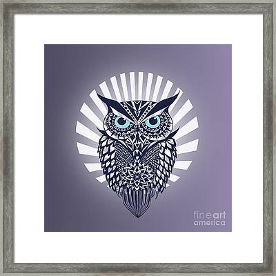 Owl Framed Print by Mark Ashkenazi