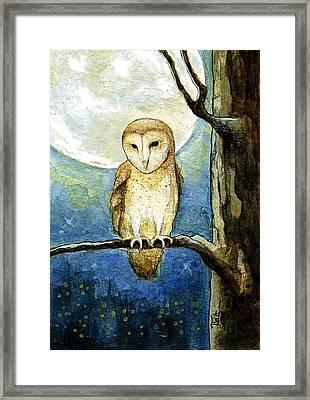 Owl Moon Framed Print