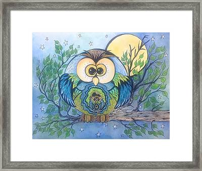 Owl Take Care Of You Framed Print