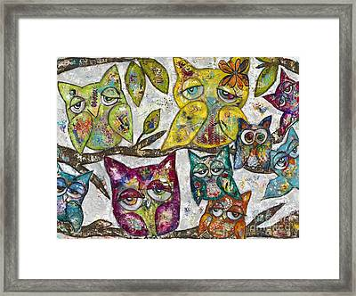 Owl Together Framed Print