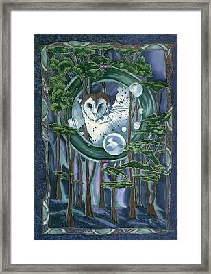 Owl Totem Framed Print