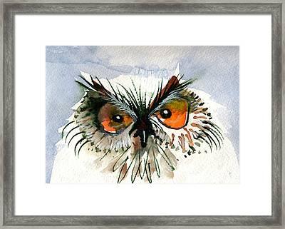 Owlitude Framed Print