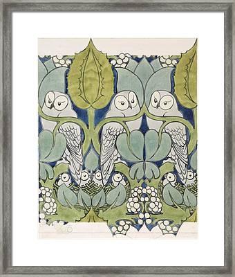 Owls, 1913 Framed Print