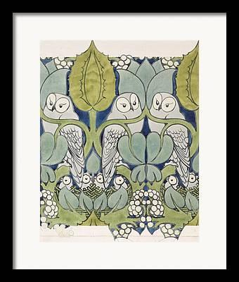 Bird Nest Framed Prints
