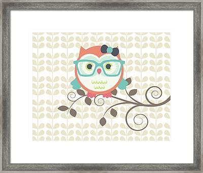 Owls 2 A Framed Print by Tamara Robinson