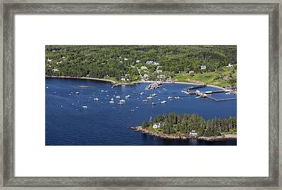Owls Head, Maine Me Framed Print by Dave Cleaveland