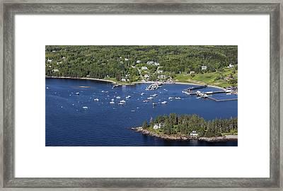 Owls Head, Maine Me Framed Print