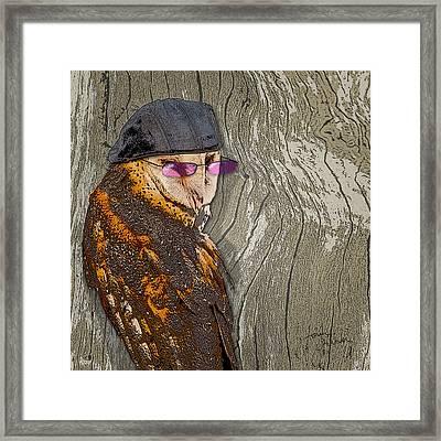 Owltitude Framed Print