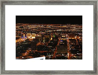 Own The Night Framed Print by Michael Davis