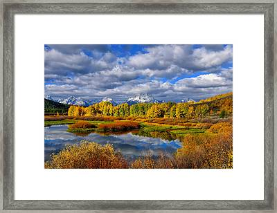 Oxbow Autumn 2013 Limited Edition Framed Print by Greg Norrell