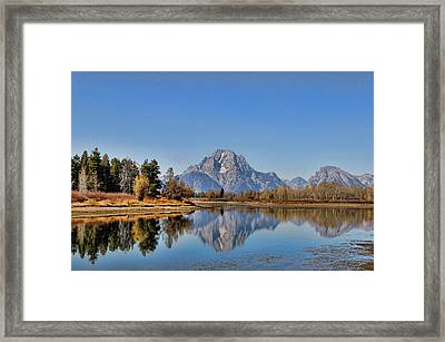 Oxbow Bend Framed Print
