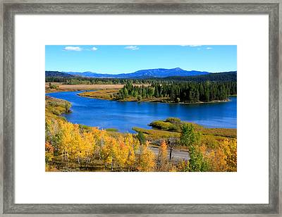 Oxbow Bend, Grand Teton National Park Framed Print