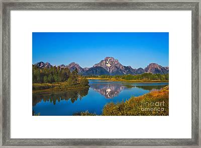 Oxbow Bend II Framed Print