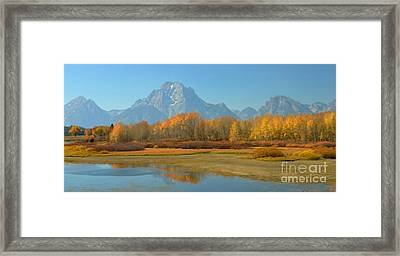 Oxbow Bend Framed Print by Kathleen Struckle