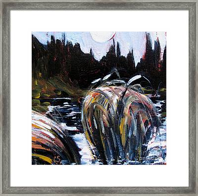 Oxbow Night Framed Print by Charlie Spear