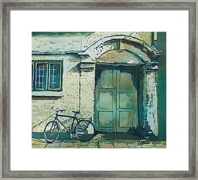 Oxford Bike Framed Print by Jenny Armitage