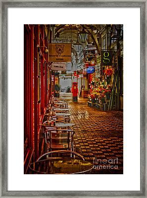 Oxford Covered Market Hdr Framed Print