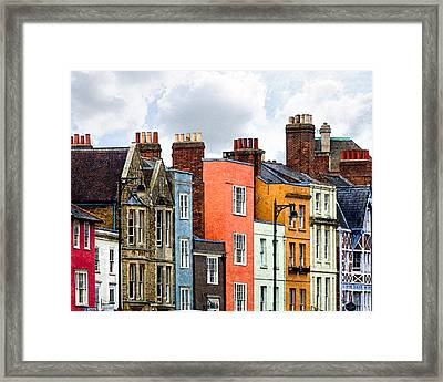 Oxford Medley Framed Print