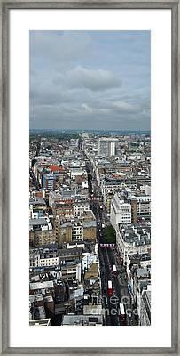 Oxford Street Vertical Framed Print