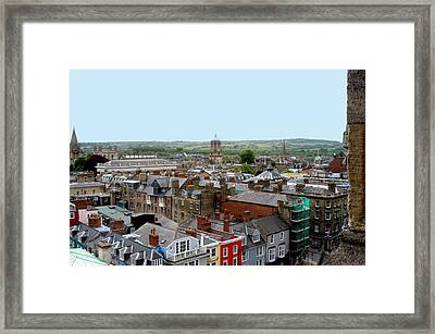 Oxford Town Framed Print by Joseph Yarbrough